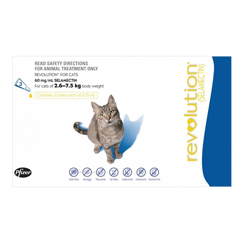 for Large Cats 2.6-7.5KG (Blue)
