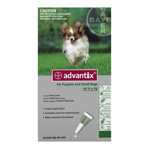 for Small Dogs upto 4Kg - Green (0.4ML)