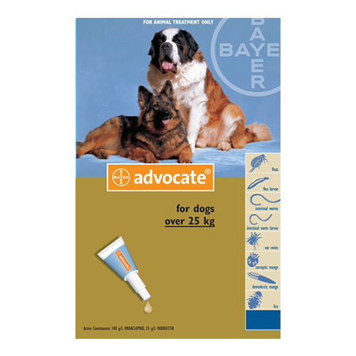 for Extra Large Dogs above 25kg - Blue (4.0ML)