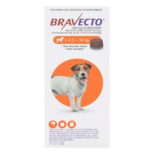 for Small Dogs 4.5-10KG (Orange)
