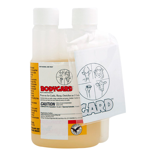 Bodygard Pour-On Dip for Cattles - 20L
