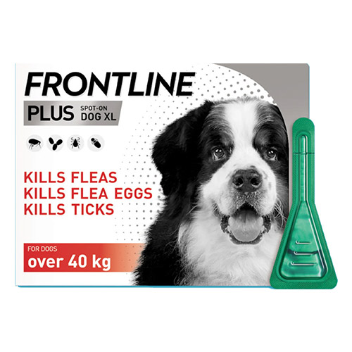 Frontline Plus For Extra Large Dogs above 40KG (Red)